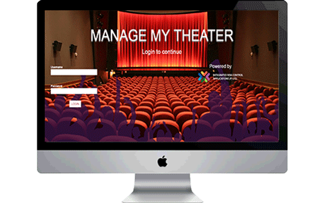 Manage My Theatre Screen